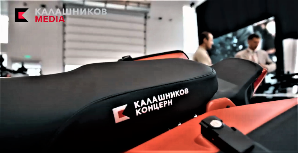 Kalashnikovs-UM-1-electric-adventure-bike-rear-seat